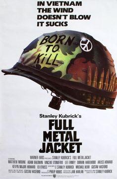 Full Metal Jacket (1987) Original One-Sheet Movie Poster