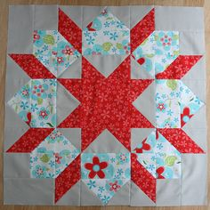 Swoon Block #4 by Punkin Handmades, via Flickr