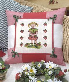 Tolles Kissen ... auch für draußen  Design : Gerlinde Gebert Shop: www.gebert-handarbeiten.de