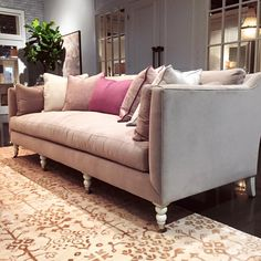 Sneak Peek Of Rowe Furniture's 2016 Spring High Point Market Showroom Furniture Market, Fine Furniture, High Point Market, Comfy Sofa, Decoration, Slipcovers, Showroom, Sofas, Love Seat