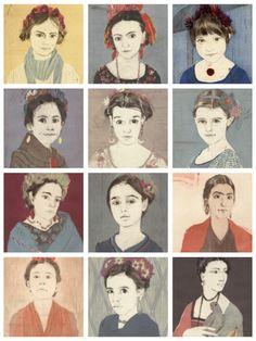 Forty Fridas by Ellen Heck