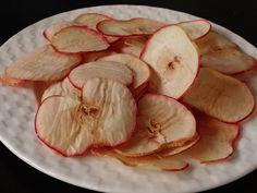 Chips de pommes au four #chips #pomme #apple