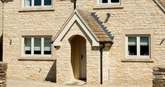 Image result for cotswold stone wall Stone Cladding, Tower, Exterior, Windows, Building, Wall, House, Mood, Image