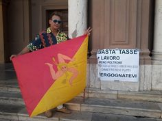 Marsala 05/10/2015 protesta dei vespri siciliani