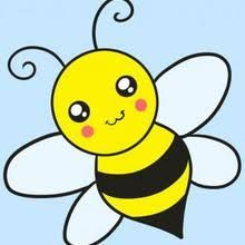 Related image Drawing Pictures For Kids, Easy Drawings For Kids, Pictures To Draw, Drawing For Kids, Drawing Tutorials For Kids, Bee Drawing Easy, Honey Bee Drawing, Drawing Guide, Drawing Drawing