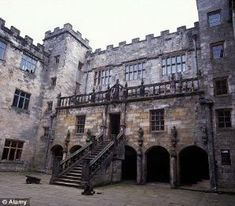 spooky abandoned places | Chillingham Castle in Northumberland England is one of the UK's most ... by jana
