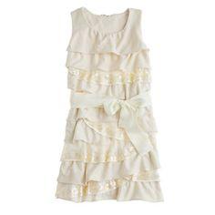 Girls' cupcake sparkle dress. Kelsey? jcrew. Or something like this?