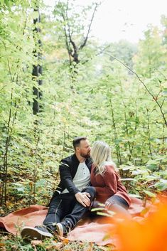 Our backyard in Mississippi Mills, ON is the perfect woodland for a romantic session Fall Engagement, Engagement Session, Engagement Photos, Early Autumn, So Much Love, Mississippi, Photo Sessions, Woodland, Backyard