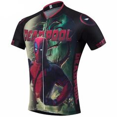 Deadpool Movie Cycling Jersey — Men's Short Sleeve - Online Cycling Gear