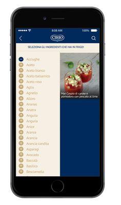 #appCirio #frigo #ricette #ricetteCirio