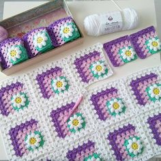 Discover thousands of images about Crochet motif chart patterncrochet square pattern Crochet Bedspread Patterns Part 17 - Beautiful Crochet Patterns and Knitting Patterns - Crochet Bedspread Patterns Part Granny Square Rose SThis Pin was di Crochet Bedspread Pattern, Crochet Mandala Pattern, Crochet Motifs, Granny Square Crochet Pattern, Crochet Flower Patterns, Crochet Afghans, Crochet Squares, Crochet Blanket Patterns, Baby Blanket Crochet