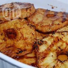 Rezeptbild: Gegrillte Ananas
