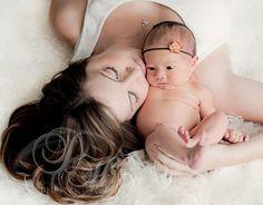 Baby Headband, Tiny Flower Headband, READY TO SHIP, Newborn Photo Prop. $7.00, via Etsy.