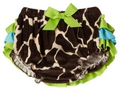 Mud Pie Wild Child Giraffe Bloomer