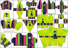 Maleficent Baby Free Printable Boxes.