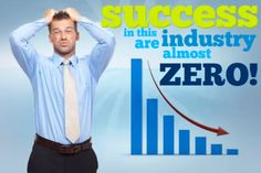 The chances of success is almost Zero. Grab this opportunity now. Opportunity, Zero, Success