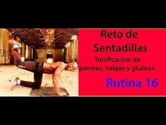LEVANTAR Y AGRANDAR GLÚTEOS CON SENTADILLAS RUTINA 16