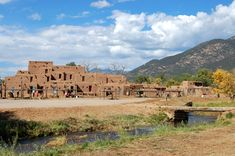 Taos Pueblo, New Mexico - still inhabited!