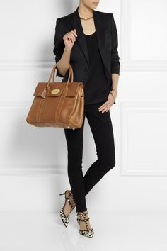 MULBERRY The Bayswater textured-leather bag $1,500