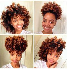 20 estilos de cabello natural para el pelo corto //  #cabello #corto #Estilos #Natural #para #pelo Haga clic para obtener más peinados : http://www.pelo-largo.com/20-estilos-de-cabello-natural-para-el-pelo-corto/