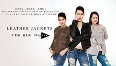 Buy women leather jackets from Goguava.com. Hurry!!! get your gorgeous and stylish jackets from the mega online store.