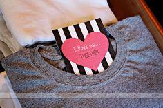 valentine's day inspiration - bilhete escondido - drops das dez