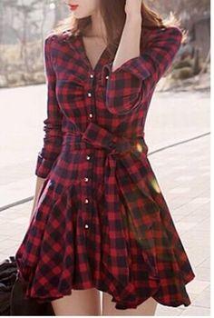 #style #plaid #women #girly #mylook #instamode #girly #ladies #fashionaddict #ootd #instaglam #girlywishlist #trendy #instalook #girl #reddress #outfitiftheday #fashiondiaries #lookoftheday #outfit #dress #woman #dressy #girlystyle #instalooks https://goo.gl/pnQNUf