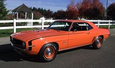 1969 Chevrolet Camaro coupe SS / Super Sport 396