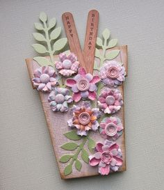 Plant Pot card using The Potting Shed