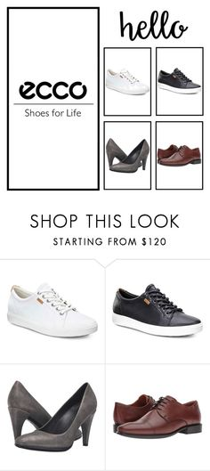 """""""ECCO Shoes at Shoes121.co.uk"""" by kamil-4 on Polyvore featuring ECCO"""