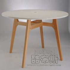 Classy Of Round Timber Dining Table dining for rustic dining Find More Nail Tables Information About Cool Booth European Fashion Simple