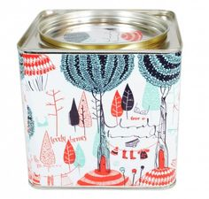 Tea Tins by @monoblock