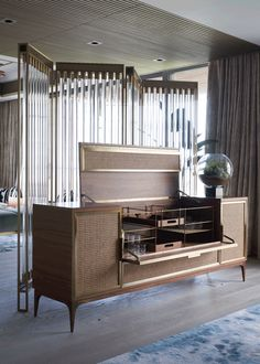 Hong-Kong-born designer Joyce Wang is certainly one of the best interior designers in the UK. Best Interior, Luxury Interior, Luxury Furniture, Room Interior, Furniture Design, Interior Design, Mini Bars, Cabinet Furniture, Scandinavian Design