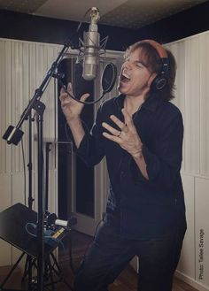 Joey in recording studio for War of Kings Europe Band, Joey Tempest, Recording Studio, One And Only, The Voice, History, My Love, Fictional Characters, Sweden