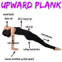 How To Do The Upward Plank Pose (Purvottanasana)