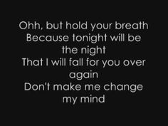 This Song Says A Lot.. I Love It!! Fall For You By Secondhand Serenade. <3