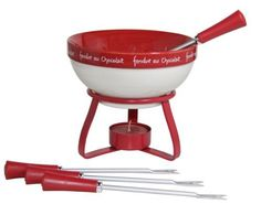 Dipping Desire Chocolate Fondue Pot 7 Piece Set by Dipping Desire