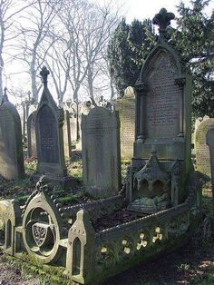 The Cemetery Howarth Yorkshire