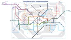 I remember using Aldwych as a boy. It was only open at certain times of day/days of the week. A Tube map of London's ghost stations – Now. Here. This. – Time Out London