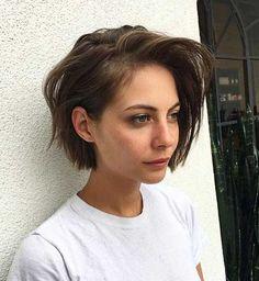 Sehen muss, Braune Kurze Frisuren für Frauen   #braune #frauen #frisuren #kurze #sehen Check more at https://bestefrisuren724.com/2018/04/18/sehen-muss-braune-kurze-frisuren-fur-frauen/