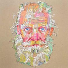 Les portraits prismatiques de Lui Ferreyra  Dessein de dessin