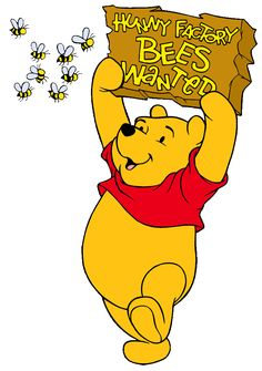 Winnie The Pooh Clipart | Bee Happy | Pinterest