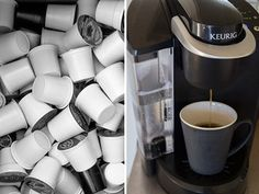Which Is the Best K-Cup Coffee? | Serious Eats: Drinks Barista Prima House Blend Green Mountain Kenyan AA Extra Bold Diedrich French Roast Blend