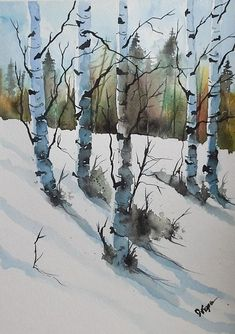 ACEO Original Watercolor Print - by Watercolorist Jim Lagasse #Realism #watercolorarts