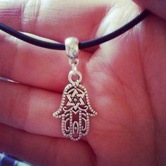 Hamsa Hand Choker Necklace https://www.etsy.com/listing/228555894/hamsa-hand-choker-necklace-on-black