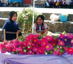 san juan guatemala market flowers - Google Search