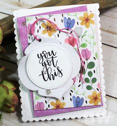 You Got This: Two Cards One Post!   The Things I Do With Paper