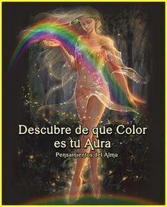 El aura es la fuente de energía que todos poseemos, y la que nos acompaña desde nuestro nacimiento hasta el día de nuestra muerte. Por medio del aura podemos aprender a conocer nuestro interior. Podemos descubrir el color de nuestra aura con esta sencilla operación clic en el enlace ,,,