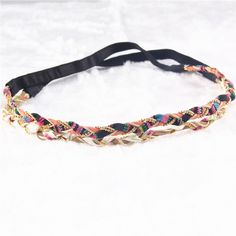 Aliexpress.com: Comprar 2 colores de trenzado diadema de tela granos de moda trenza playa del verano diademas mujeres joyas de cabeza PY027 de joyería martillo fiable proveedores en Zhejiang Can Fly Co.,Ltd