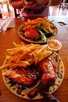 Nandos peri peri chicken... My mouth is watering just thinking about it!